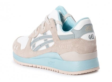 Chaussures Asics Gel Lyte III Light grey Agate Pack vue arrière