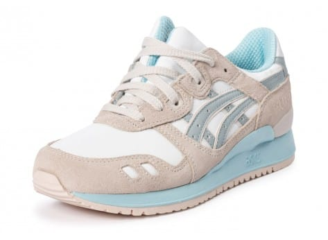 Chaussures Asics Gel Lyte III Light grey vue avant