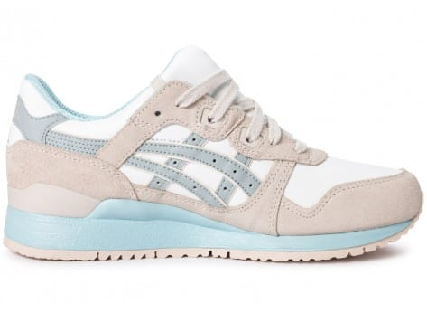 Chaussures Asics Gel Lyte III Light grey Agate Pack vue dessous