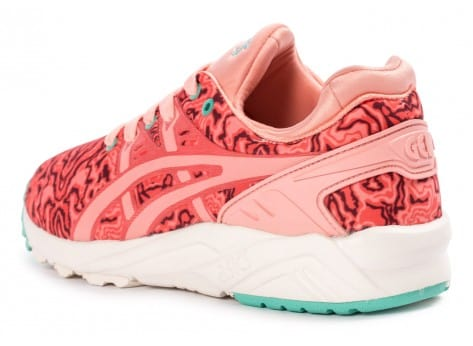 Chaussures Asics Gel Kayano Trainer Evo W Corail pink vue arrière