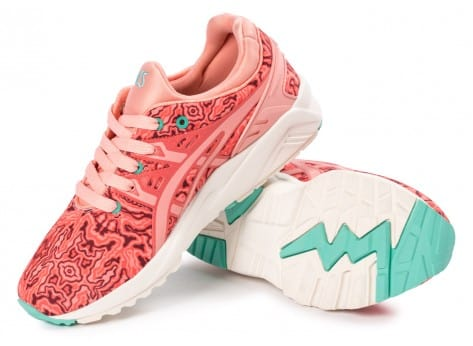 Chaussures Asics Gel Kayano Trainer Evo W Corail pink vue intérieure
