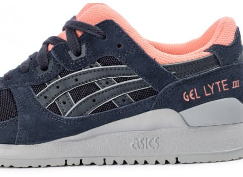 Chaussures Asics Gel Lyte III Indian Ink vue dessus