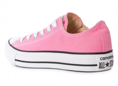Chaussures Converse Chuck Taylor All-Star Canvas OX rose vue arrière
