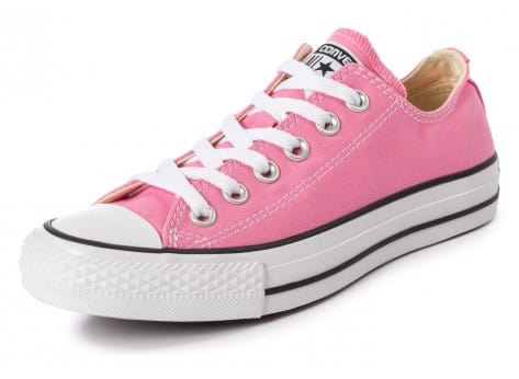 Chaussures Converse Chuck Taylor All-Star Canvas OX rose vue avant