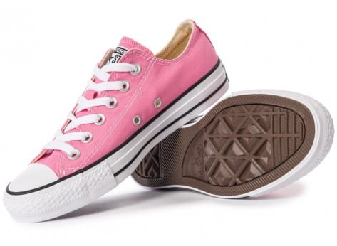 Chaussures Converse Chuck Taylor All-Star Canvas OX rose vue intérieure