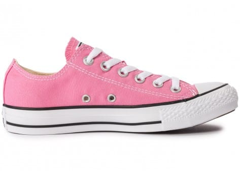 Chaussures Converse Chuck Taylor All-Star Canvas OX rose vue dessous