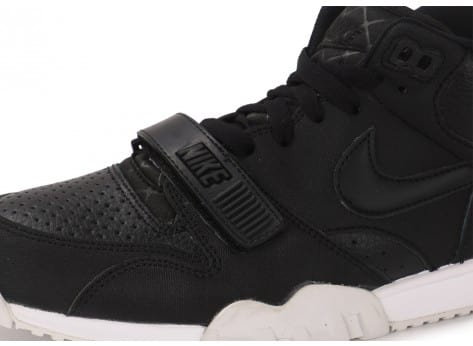 Chaussures Nike Air Trainer 1 Mid noire vue dessus