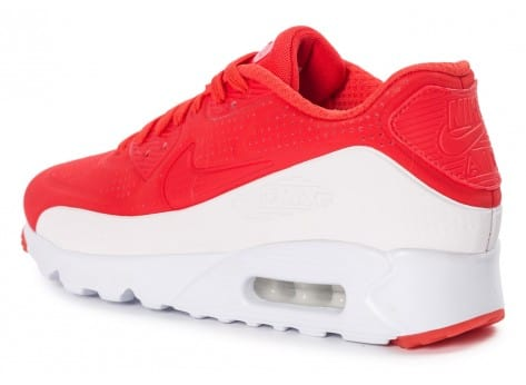 Chaussures Nike Air Max 90 Ultra Moire rouge vue avant