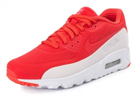 Chaussures Nike Air Max 90 Ultra Moire rouge vue intérieure