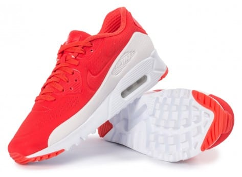 Chaussures Nike Air Max 90 Ultra Moire rouge vue extérieure