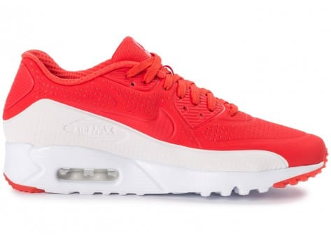 Chaussures Nike Air Max 90 Ultra Moire rouge vue arrière