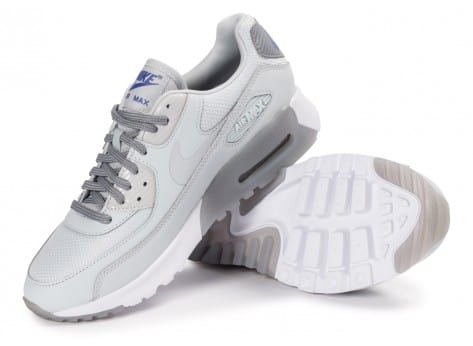 Chaussures Nike Air Max 90 Ultra Essential platinum vue intérieure