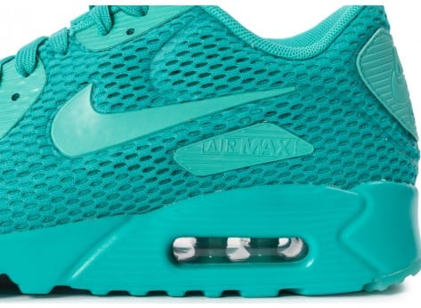 Chaussures Nike Air Max 90 Ultra BR Hyper Jade vue dessus