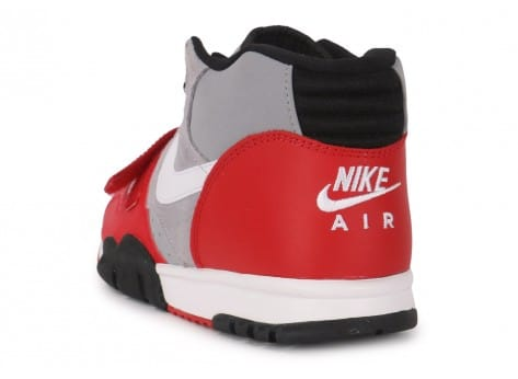 Chaussures Nike Air Trainer 1 Mid grise vue arrière