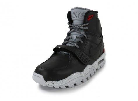 Chaussures Nike Air Trainer SCII Boot noire vue avant