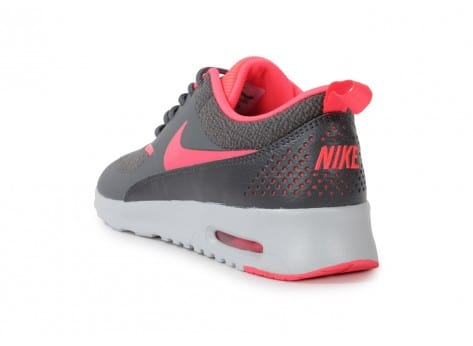 Chaussures Nike Air Max Thea Grise Rose vue arrière