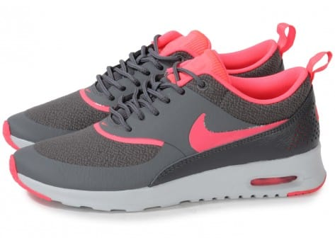 new concept 18a80 ee008 ... chaussures nike air max thea grise rose vue par paire