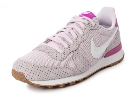 Chaussures Nike Internationalist Bleached Lilac vue arrière