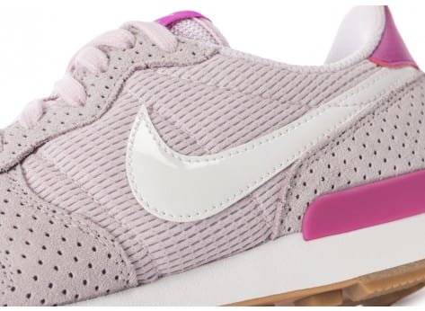 Chaussures Nike Internationalist Bleached Lilac vue dessus