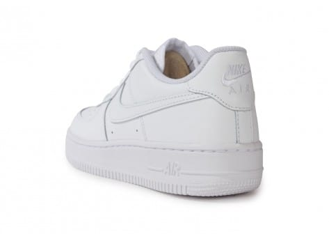 Chaussures Nike Air Force 1 junior blanche vue arrière