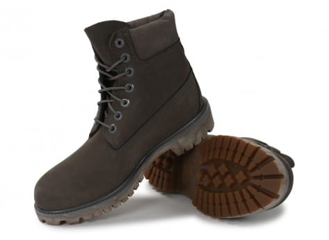 Chaussures Timberland 6-Inch Premium Boot anthracite vue intérieure
