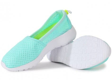 Chaussures Nike ROSHE ONE SLIP-ON TURQUOISE vue intérieure
