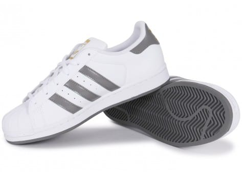 adidas superstar bande grise,chaussures adidas superstar
