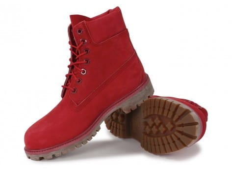 timberland rouge homme