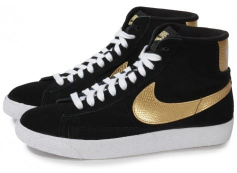 Chaussures Nike Or