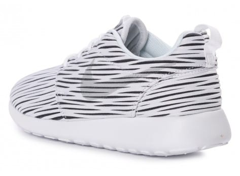 Chaussures Nike Roshe one ENG blanche vue arrière