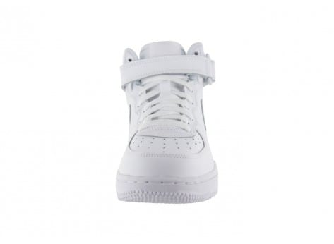 Chaussures Nike AIR FORCE 1 MID ENFANT BLANCHE vue avant