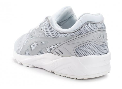 Chaussures Asics Gel Kayano Trainer Evo W gris clair vue avant