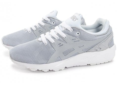 Chaussures Asics Gel Kayano Trainer Evo W gris clair vue extérieure
