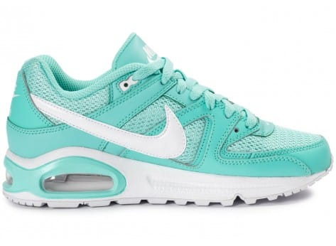Chaussures Nike Air Max Command Junior turquoise vue dessous