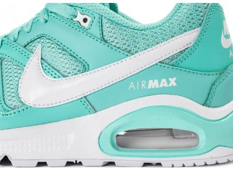 Chaussures Nike Air Max Command Junior turquoise vue dessus
