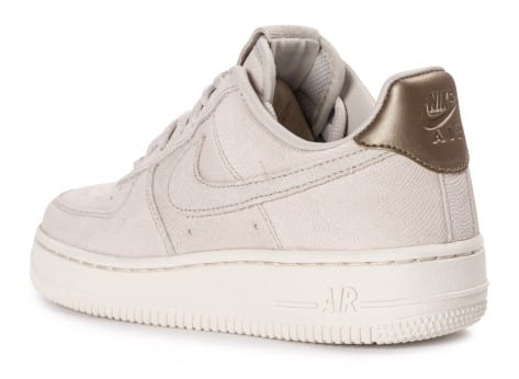Chaussures Nike Air Force 1 Premium Suede Gamma grey vue arrière