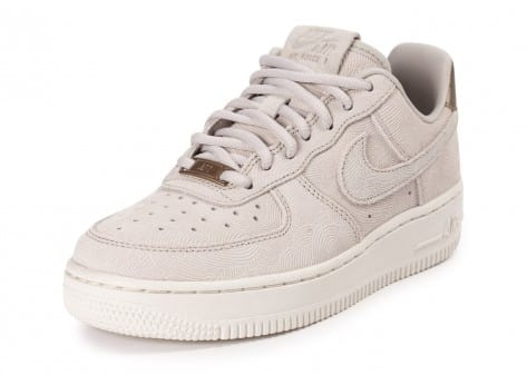 Chaussures Nike Air Force 1 Premium Suede Gamma grey vue avant