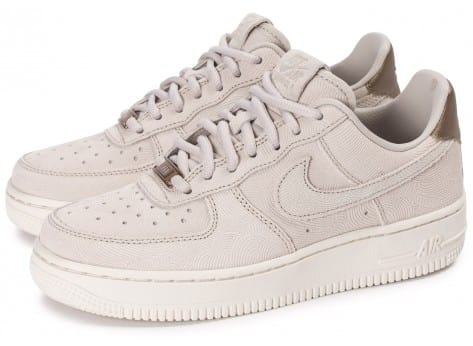 Chaussures Nike Air Force 1 Premium Suede Gamma grey vue extérieure