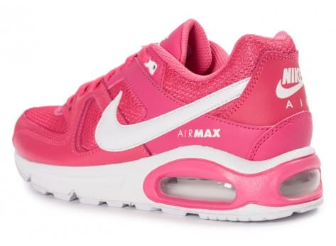 Chaussures Nike Air Max Command Junior rose vue avant