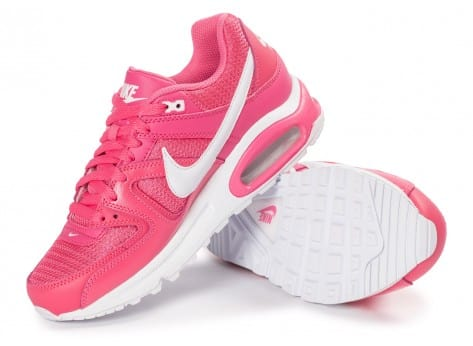 Chaussures Nike Air Max Command Junior rose vue dessous