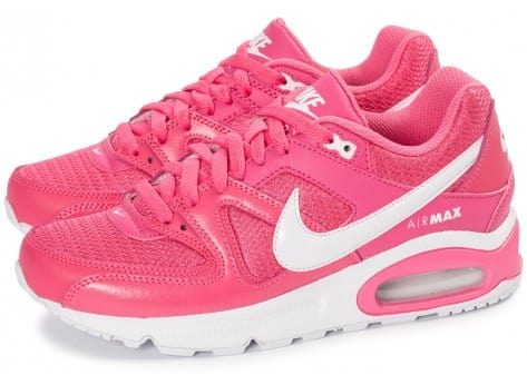Chaussures Nike Air Max Command Junior rose vue extérieure