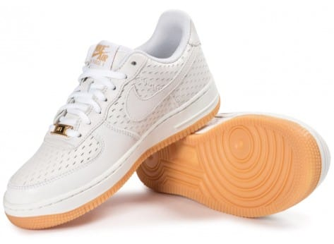 Chaussures Nike Air Force 1 '07 Premium blanche vue intérieure