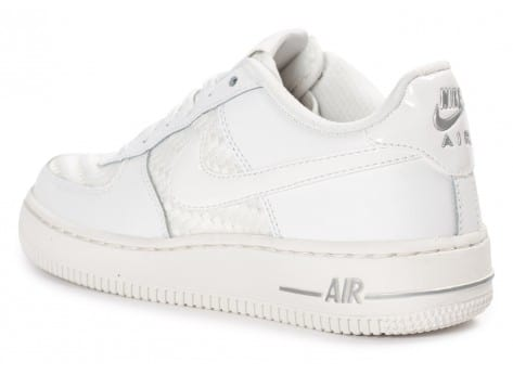 Chaussures Nike Air Force 1 LV8 Low Junior blanche vue arrière