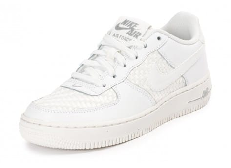Chaussures Nike Air Force 1 LV8 Low Junior blanche vue avant