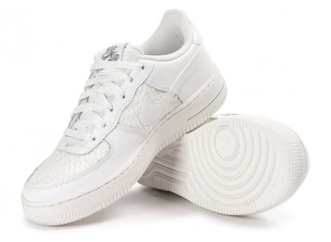 Chaussures Nike Air Force 1 LV8 Low Junior blanche vue intérieure