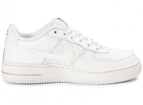 Chaussures Nike Air Force 1 LV8 Low Junior blanche vue dessous