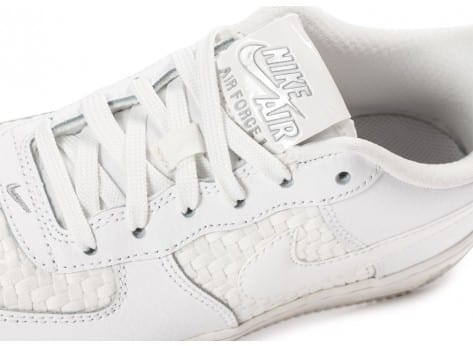 Chaussures Nike Air Force 1 LV8 Low Junior blanche vue dessus