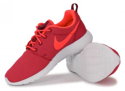 Chaussures Nike Roshe One Grenat vue intérieure