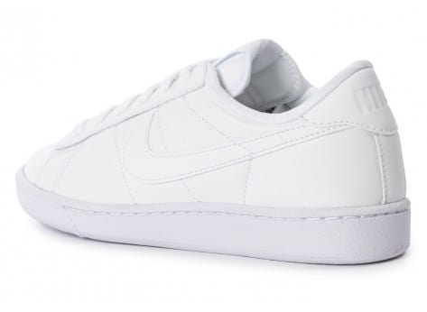 Chaussures Nike Tennis Classic blanche vue arrière