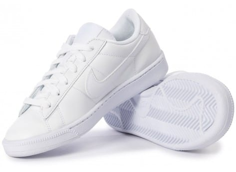 Chaussures Nike Tennis Classic blanche vue intérieure